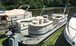 We will contact you only if you send us your phone number.2000 Starcraft Elite 22 foot pontoon boat. This boat comes equipped with a 75 hp Mercury engine that was just fully services at my marina. The interior shows practically new as does the deck
