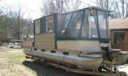 2000 Sun Tracker Home Made 28' Pontoon. I built this boat my self for night fishing its a good boat i have enjoyed it but things change and she has to go good luck!Full fold out bed.Utility Sink(with pump).Changing room.Electracal wired 110v.Deep cycle