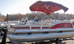 ,,,,,,,,,,,2000 Tracker Marine Sun Tracker Bass Buggy Pontoon Boat. A great combination of bass fishing boat features combined with the ease & comfort of a pontoon boat! Tracker trailer included. This boat has been water tested, checked out by a qualified