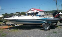 2000 Triton 186 with 2001 Yamaha 150 hp VMAX engine and 2000 Triton TrailerHas perfect engine compression, 2 Stroke Oil InjectedHydraulic SteeringGood floor and transomGood seats24 Volt Trolling MotorLowrance X48 In DashLowrance X125 at BowHas black light