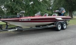I love this boat and will be very sad to see it go. New: Carpet Tires 10ply 5 - spare is new too Foot Trim and Tilt Paint above the water line 2 Live Well Pumps Wiring on Trailer Paint on trailer Boards even the ones on the inside of the fenders Trailer