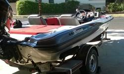 Recently installed quality Marine 220z carpet w/additional padding for a added comfort. Livewell, Bilge and Aerator pumps were recently installed. Full length rod lockers will house all the rods you'll need. Batteries were purchased within a year and have
