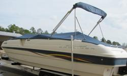 Features included with Boat:CompassToilet and carpeting ( was removed and never used, stored in garage, in trash bags)2 Full size coolers stored under seats.Sink/shower with Fresh water tank.1 live well for fishing.Button down boat cover with poles.Fold