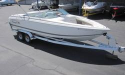 Hit the water in luxury with this 2001 Cobalt 262. Featuring a fuel-injected Volvo Penta 7.4L engine with DuoProp outdrive, this boat is sure to turn heads and provide a unique boating experience for friends and family. With ample amounts of storage and