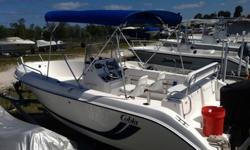 21 Foot 2001 Cobia 214 Center Console fishing boat in excellent condition. Powered by a 200 EFI Yamaha Outboard - JUST SERVICED! Super reliable and very fast, she'll do about 45mph! I installed a new AM/FM/CD stereo with 4 speakers for when I anchor off