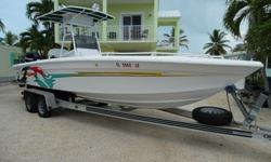 I'll respond ONLY through phone so please leave me your number. Thanks!2001 concept 25 foot openfish center console power boat. This boat has been in our family since 2003. The boat was owned and custom built for the owner of concept boats! We re powered