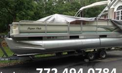 Four Stroke. She includes a Custom loader tandem axle trailer,pre-wired for trolling motor, side ladder, dual batteries with switch, 1 fish finder, Two live wells, Clarion Stereo w/CD,Two rod locker, 24 gallon fuel tank, 3 bass chairs, Captain's 2 seat