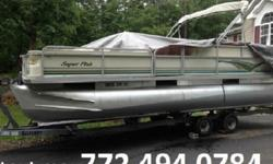"""Storage in all loungersSwitches/Marine with BreakersTeleflex Extreme with Sport Steering WheelPontoons25"""" Diameter .08048"""" nose cone -.100Custom """"M"""" Brackets/SkirtingFully sealed structural bulkheads with 4 ChambersMotor Mount - heavy duty with 26 Gallon"""