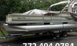 Four Stroke. She includes a Custom EZ loader tandem axle trailer,pre-wired for trolling motor, side ladder, dual batteries with switch, 1 fish finder, Two live wells, Clarion Stereo w/CD,Two rod locker, 24 gallon fuel tank, 3 bass chairs, Captain's 2 seat