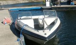 Immaculate condition. 235 Low hours. 4.3 Mercury Mercruiser. and she's fast. Depth finder, electric trim and bilge, running lights. Sweet little boat. With it being 18' it is light and easy to pull with smaller truck or SUV. Very Very Clean! If interested