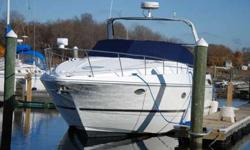 Cruisers Express 3672 with twin MerCruiser engines with 850 hours, 2014 new headers/risers, 2012 rebuilt generator-7.3 kw Kolher, 2013 new Garmin electronics-radar-7212 plotter-Sea View, 2014 new depth, 2013 new sun pads, 2015 new cockpit carpet, 2014 new