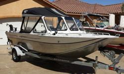 Beautiful 2001 20' Silverwing Duckworth fishing boat with only 109 hours. Comes with a 240 Mercury jet drive with a top speed of 45 mph. The boat features 2 fish-finders, full canape, cannon down riggers, hydraulic seats, fish box, a 9.9 Mercury kicker
