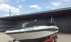 *The owner of the shop also put on a new fiberglass gel coating on the bottom of boat, installed 2nd battery, and put on a dual new impellerI installed a new CD player and extra speakers as well305, GXI 5 liter, 8 cylinder2001 Four Winns Horizon 21022ft