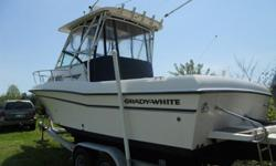 Trailer is a 2001 Performance Aluminum Dual Axle Bunk trailer = 8500 lb capacity.Smaller late model Center Console trades would be welcome!Super clean and New Yamaha 250 HP Four Stroke (2010) with warranty till 2016! This boat is loaded including all the