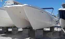 Just In A Truly Clean 2001 Leisure Cat Powered By Twin Honda 130 Outboard Motors That Have 230 Hours. This Is A One Owner Boat That Has Been Under Cover Lift Kept From Day One And Shows It. Equipped With Garmin GPS, Two Swim Ladders, Bimini Top, Large