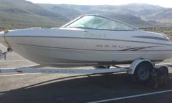 19' Maxum 1900 SR2 with 5.0 Mercury MotorOnly 85 running hours!!Just had it looked over at marine shop and received an A++ !!Only selling due to medical situationStorage keptInside and out clean and free of tears, dents or damageFreshwater use