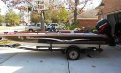 You don't have to worry about this boat. This is a fishing machine that can take all the conditions.The owner just re-decked the whole boat. He is also including a new trolling motor with the package. It is already pre-wired and has the mounting