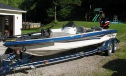 """I am selling my 2001 ProCraft SuperPro 210 SC. Equipped with a Mercury Optimax 225 with 10"""" jackplate and hydraulic steering. Boat is equipped with tilt/trim on steering wheel, gearshift, on motor, and in front of boat. Also has hotfoot throttle. Has lots"""