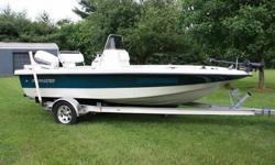 You are looking at a 2001 ProMaster 19 foot Single Outboard 130HP Johnson. I originally intended for croppie fish out of it. Since purchasing and now I have had medical problems that prevent me from utilizing this vessel.24 Volt Minno Kota Trolling