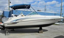 www.PowerMarine.comSales (@) Powermarine.com(305)759-30529595 N.W. 7th AvenueMiami, FL 33150 LINK:http://www.powermarine.com/used-boats-for-sale/0121_SeaRay_SD/#.UgEl4pvD_RY2001 SEA RAY 21' SUNDECK POWERED BY MERCRUISER!!! FINANCING AVAILABLEThis 2001 21'