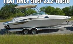Sea Ray 240 24' deck boat that the whole family and friends can enjoy. Ride above the rest, Sea Ray is known for its craftsmanship and quality and produce some of the best boats on the water today. This boat is equipped with a powerful 7.4 liter V8