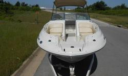 ck boat that the whole family and friends can enjoy. Ride above the rest, Sea Ray is known for its craftsmanship and quality and produce some of the best boats on the water today. This boat is equipped with a powerful 7.4 liter V8 Mercruiser motor and