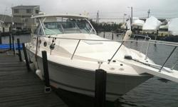 The starboard engine runs perfect.Twin fuel injected 7.4 liter v8 engines. Engines have approx 500 hours on them. Boat is fully loaded with everything the Coastal has to offer. Kohler generator, Upgraded Garmin GPS fishfinder. Boat is overall in good