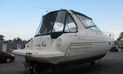 ,,./..2001 Yachts Cruisers 3572 Express with only 266 hours. This Cruiser is in good condition but needs some work . This Vessel took on water at its slip. There was water reported in the cabin and the engines, motors were pickled and turn over by hand,,,