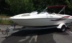 Twin inboard engines 135hp for total of 270 HP. Seats 7. Boat runs good, have some easy fix upholstery issues, new batteries, new tires on a trailer, for serious buyer will do weekend test ride on a lake lanier. No low ballers please. $7900 OBO. Richard