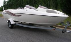 20 Foot Boat, Twin 135 hp 3 Cylinder Engines Pushing A Total 270 Horsepower, Seats 7 Adults, Galvanized Trailer Is Included. Great For Pulling Skiers, Wakeboards Or Tubes. Boat Has 2 Batteries And Battery Perko Switch. Under Floor Ski Storage And Bow