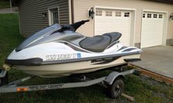 2002 Yamaha FX140 Jet ski with trailer, jet ski is in very good condition, has been taken care of. has minor scratches from use. runs very well, top speed is approx 60mph, brand new battery, has approx. 250 hours. has reverse, and trim, Gray Traction mats