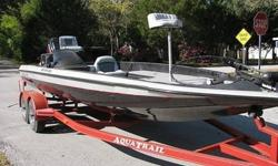 YOU ARE LOOKING AT A 2002 MODEL 2150 HYDRA BASS BY BASS STREAM... THESE BOATS ARE VERY POPULAR WITH FISHERMEN DUE TO THE VERY COMFORTABLE AND EASY TO HANDLE RIDE WITH A REALLY EFFICENT LAYOUT....THESE BOATS HAVE A REPUTATION FOR BEING ABLE TO TAKE ON THE