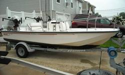 2002 17' Boston Whaler Montauk Edition, With 75 HP Honda Engine, Boat was used in fresh water except for the last 2 months. Has 2 down riggers, garmin GPS fish finder, Trailer, Cooler seat & rod holders. 24 gallon fuel tank. All serviced and ready to go.