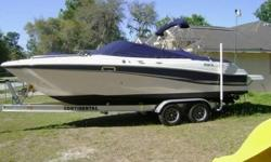 THIS 2002 FOUR WINNS 240 HORIZON IS A BEAUTY TO SAY THE LEAST, AND IS READY TO GO. NOT ONLY IS THIS A BEAUTIFUL AND AMAZING VESSEL, SHE HAS SEVERAL FEATURES AND OPTIONS TO MAKE YOUR TIME ON THE WATER WITH FAMILY AND FRIENDS MORE ENJOYABLE?THE CONSOLE HAS