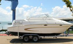 2002 GLASTRON GS 2492002 MAGIC TILT TRAILERNO RESERVEMARINE INSPECTED AND COMPRESSION TESTEDEVERYTHING WORKS AS INTENDEDENGINE IS THE VOLVO PENTA 5.7 GL 260 HP MODELVOLVO PENTA OUTDRIVE WITH STAINLESS STEEL PROPOFF SHORE POWERAIR CONDITIONINGHOT WATER