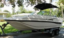 YOU HAVE JUST VIEWED AN VERY NICE 2002 HURRICANE DECK BOAT MODEL SD 187 THAT'S BEEN VERY WELL MAINTAINED, LOCATED IN BEAUTIFUL LAKELAND, FLORIDA! THIS BOAT COMES WITH A TANDEM AXLE TRAILER FOR EASY GARAGE STORAGE. THE UPHOLSTERY IS IN GREAT CONDITION! IT