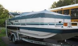 2002 Hurricane Deck Boat w/ trailer only 158 hours logged - one OwnerExcellant condition 2002 Hurricane Deck Boat Model 226FF 22 1/2 ft. fun and fish deck. Trailer included - load rite tandon axle drive on trailer. Condition: Excellant - one owner.Length