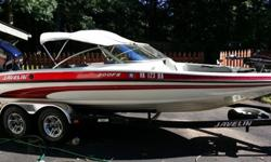 This is a Nice Fish and Ski boat, I have all cushions, ski pole for back, water skies, pull rope.. this is also set up nice for Tournament fishing. I have fished Kerr, Gaston, the Rap, and the Potomac. I have two stainless steel props-- 3 blade and 4