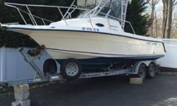 2002 Key West 2300 Blue Water W/ Twin 115 Four Stokes-For a faster respond please reply with your phone number! 2002 Key West 2300 Blue Water, walk around with 2002 Load Right trailer Great condition, Twin Yamaha 115 4 stroke motors, counter rotation 600