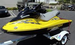 2002 Sea-Doo Bombardier RXDi + 1997 Trailrite EZ Loader TrailerPractically BRAND NEW - only 9.9 Hours!Always Garaged, Always Professionally Serviced! This is my personal machine - I purchased it new from the dealer on March 5th of 2005. It had never been