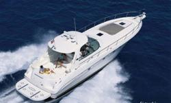 2002 Sea Ray 460 Sundancer * This is the best kept 460 we have ever had the pleasure of selling * The 460 Sundancer is a super-sized family express cruiser * She offers very generous living and entertaining space * Her large saloon can accommodate family