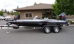 This 2002 Triton TR-20 Bass Boat is in excellent condition. It is powered by a Yamaha VMAX 225 3.1 L Motor with jack plate and comes with a Triton trailer and a Motorguide Tour Edition 109 7109V Trolling Motor. We have had the motor serviced and a