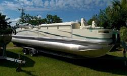 Boat has a dual battery system. Interior and exterior are very clean. Boat runs great and has been well maintained. Engine is a Mercury HP Bigfoot 4-stroke with power tilt and trim. Full cover. Make us an offer we can't refuse! Beam: 8 ft. 6 in. Hull