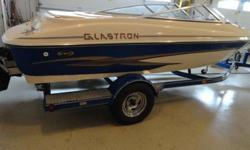 Currently selling a 2003 Glastron GX185 with 280 +/- hours. Boat is in near perfect condition. It has a 4.3L Mercruiser - 220 HP- Has a GREAT amount of storage. It has a snap in carpet for easier cleaning of floors. We have experienced the top speed to be