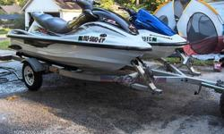 2003 Kawasaki 900 STX (ID # KAW21450G303, vessel # MO-4049-FC) with 15 total operating hours, 3-cylinder, 2-stroke, 100hp ? great sporty and nimble jetski ? a crotch-rocket of PWC?s! Top speeds of 55+mph with 2 passengers (this was before a new impeller