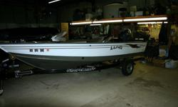 This is a very clean straight boat with four stroke 90hp Yamaha with hydraulic steering it is plumbed for a second motor. Equipment list include Minn Kota Terrova with I-pilot.Lowrance LMS 332 with GPSCannon Mag 20 DT down rigger with extras.Fisherman 25