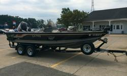 Powered by a 200 horsepower Mercury Optimax with a Mercury 9.9 Horsepower four stroke kicker. Has bow mounted minn kota trolling motor with foot controls. The boat has two batterys with XPS onboard charger. Comes with full electronics. Lowrance LMS-320