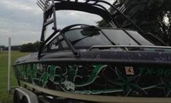 CLEAN & CLEAR Title IN HAND.I have decided to sell my Malibu Wakesetter. I am only selling it just because I never really have time to use it anymore. The boat is in pretty good shape for it's age. I had the hydraulic transmission replaced new in April