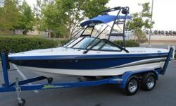 2003 MB Sports 20ft Ski/wakeboarding boat in good working condition! This boat has an PCM 5.0 lt motor with 910 hours (compression is 180/185 in all cylinders), bimini, whole boat cover, shower, depth finder, two tower speakers, amplifier and cd player.