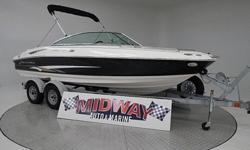 High Quality 20' Monterey V8 boat and it's under $20,000!!! Gonna sell fast!! Comes with warranty. Ask about FREE delivery. Add a tower for only $1800.00We have the largest selection of very clean used Boats in the Northwest! Check our web site before